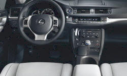 Lexus Models at TrueDelta: 2013 Lexus CT interior