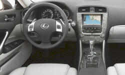 Convertible Models at TrueDelta: 2013 Lexus IS interior
