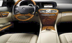 Coupe Models at TrueDelta: 2014 Mercedes-Benz CL-Class interior