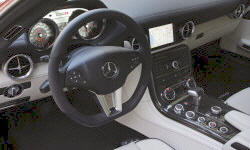 Convertible Models at TrueDelta: 2012 Mercedes-Benz SLS AMG interior