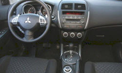 SUV Models at TrueDelta: 2012 Mitsubishi Outlander Sport interior