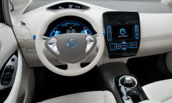 Hatch Models at TrueDelta: 2017 Nissan LEAF interior