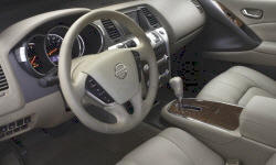 Convertible Models at TrueDelta: 2014 Nissan Murano interior