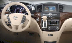 Nissan Models at TrueDelta: 2016 Nissan Quest interior