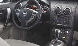 Nissan Models at TrueDelta: 2013 Nissan Rogue interior