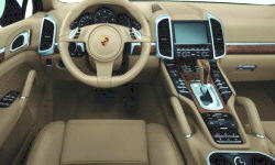 SUV Models at TrueDelta: 2018 Porsche Cayenne interior