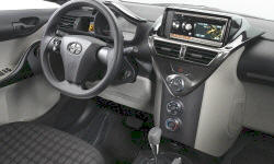 Hatch Models at TrueDelta: 2015 Scion iQ interior