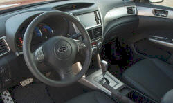 SUV Models at TrueDelta: 2013 Subaru Forester interior