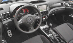 Hatch Models at TrueDelta: 2011 Subaru Impreza / WRX / Outback Sport interior