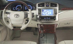 Toyota Models at TrueDelta: 2012 Toyota Avalon interior
