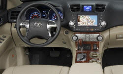 SUV Models at TrueDelta: 2013 Toyota Highlander interior