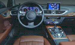Hatch Models at TrueDelta: 2018 Audi A7 / S7 / RS7 interior