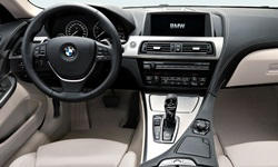 Coupe Models at TrueDelta: 2015 BMW 6-Series interior