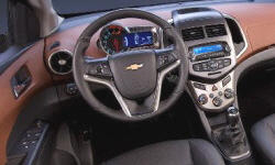Hatch Models at TrueDelta: 2016 Chevrolet Sonic interior