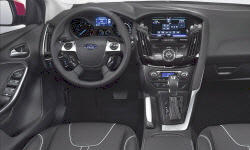 Hatch Models at TrueDelta: 2012 Ford Focus interior