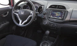 Hatch Models at TrueDelta: 2014 Honda Fit interior