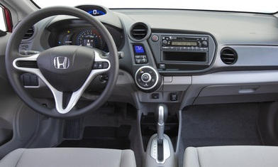 Hatch Models at TrueDelta: 2014 Honda Insight interior