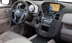 Honda Models at TrueDelta: 2015 Honda Pilot interior