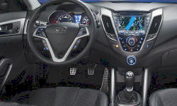 Hatch Models at TrueDelta: 2015 Hyundai Veloster interior