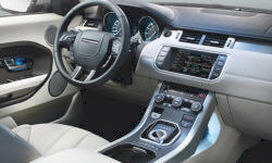 Convertible Models at TrueDelta: 2019 Land Rover Range Rover Evoque interior