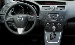 Mazda Models at TrueDelta: 2015 Mazda Mazda5 interior