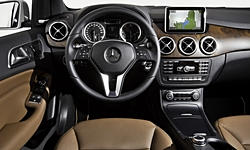 Hatch Models at TrueDelta: 2017 Mercedes-Benz B-Class interior
