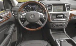 Mercedes-Benz Models at TrueDelta: 2015 Mercedes-Benz M-Class interior