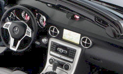 Convertible Models at TrueDelta: 2016 Mercedes-Benz SLK interior