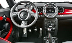 Convertible Models at TrueDelta: 2015 Mini Roadster interior