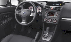 Hatch Models at TrueDelta: 2014 Subaru Impreza / WRX interior