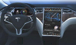 Tesla Models at TrueDelta: 2016 Tesla Model S interior