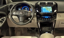 SUV Models at TrueDelta: 2014 Toyota RAV4 EV interior