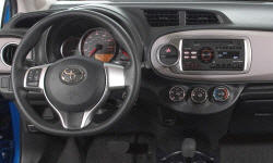 Hatch Models at TrueDelta: 2014 Toyota Yaris interior