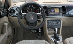 Convertible Models at TrueDelta: 2016 Volkswagen Beetle interior
