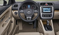 Convertible Models at TrueDelta: 2016 Volkswagen Eos interior