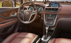 Buick Models at TrueDelta: 2016 Buick Encore interior
