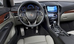 Coupe Models at TrueDelta: 2019 Cadillac ATS interior