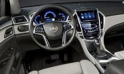 SUV Models at TrueDelta: 2016 Cadillac SRX interior