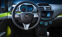 Hatch Models at TrueDelta: 2015 Chevrolet Spark interior