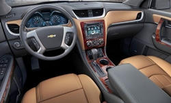 SUV Models at TrueDelta: 2017 Chevrolet Traverse interior