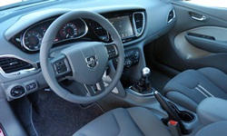 Dodge Models at TrueDelta: 2016 Dodge Dart interior