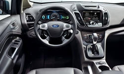 Hatch Models at TrueDelta: 2018 Ford C-MAX interior