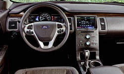 SUV Models at TrueDelta: 2019 Ford Flex interior