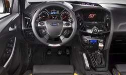 Hatch Models at TrueDelta: 2014 Ford Focus interior