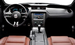 Convertible Models at TrueDelta: 2014 Ford Mustang interior
