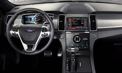 Ford Models at TrueDelta: 2018 Ford Taurus interior