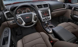 GMC Models at TrueDelta: 2016 GMC Acadia interior