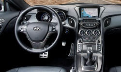 Coupe Models at TrueDelta: 2016 Hyundai Genesis Coupe interior