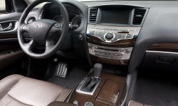 SUV Models at TrueDelta: 2013 Infiniti JX interior