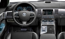 Jaguar Models at TrueDelta: 2015 Jaguar XF interior
